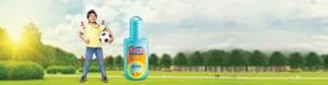घराबाहेर वैयक्तिक मॉस्किटो रिपेलंट वापरा - सिट्रस सुगंध