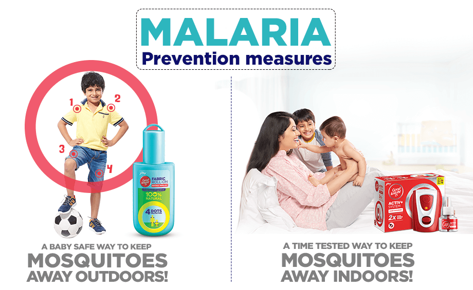 prevent malaria with goodknight