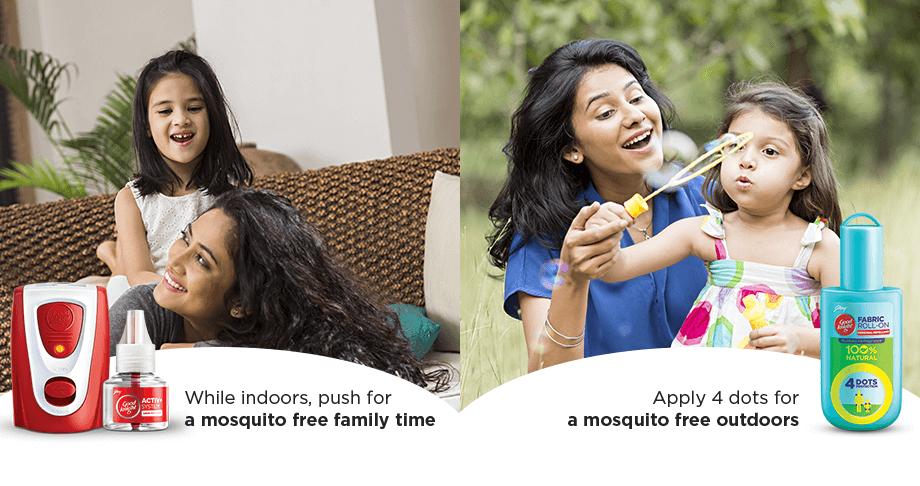 Indoor & Outdoor Mosquito Repellent